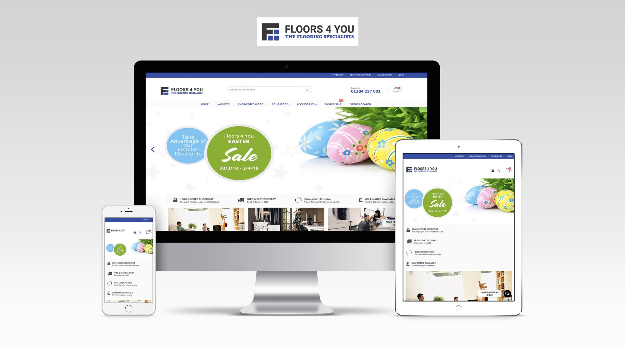Floors 4 you new website launch
